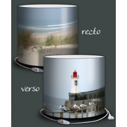 Collection MARINE - Lampe ovale DUO 2 images