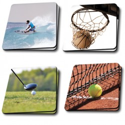 Sous verre collection sports&loisirs